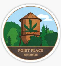 Point Place Water Tower Sticker