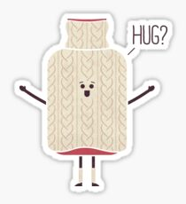 Hug Buddy Sticker