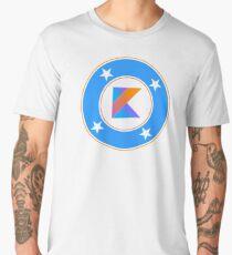 Kotlin coder - superhero dev comics Men's Premium T-Shirt