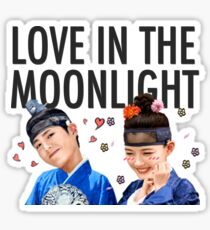PARK BO GUM & KIM YOO JUNG LOVE IN THE MOONLIGHT Sticker