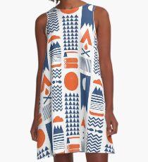 Vereinfachen A-Linien Kleid