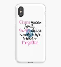 Stich quotes iPhone Case/Skin