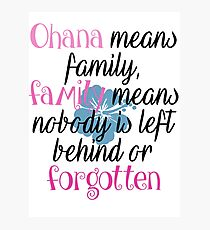 Stich2 quotes Photographic Print