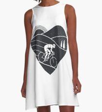 Love Cycling  A-Line Dress