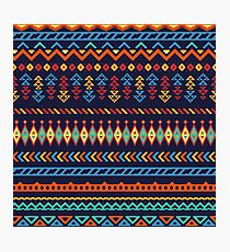 Ethnic pattern Photographic Print