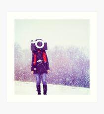 Photography Addict Art Print