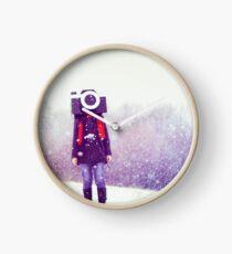 Photography Addict Clock