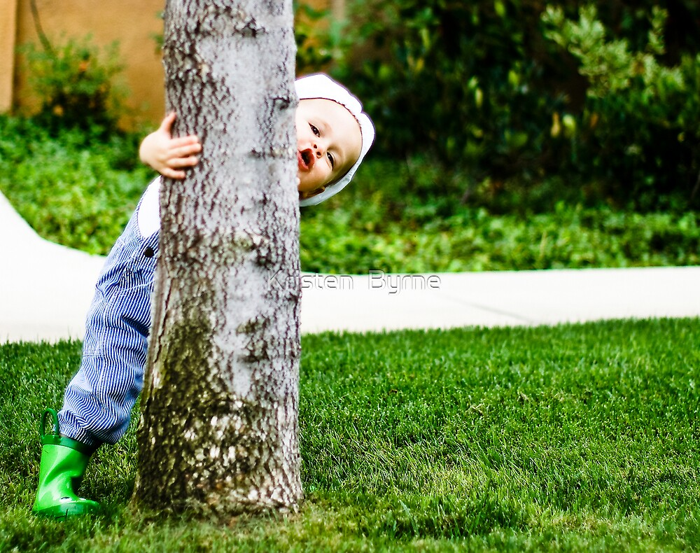 Tree Hugger :-p by Kristen  Byrne