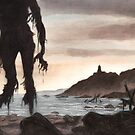 The Beach Ghost by Filippo Vanzo