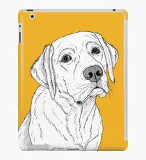 Labrador-Hundeportrait iPad-Hülle & Klebefolie