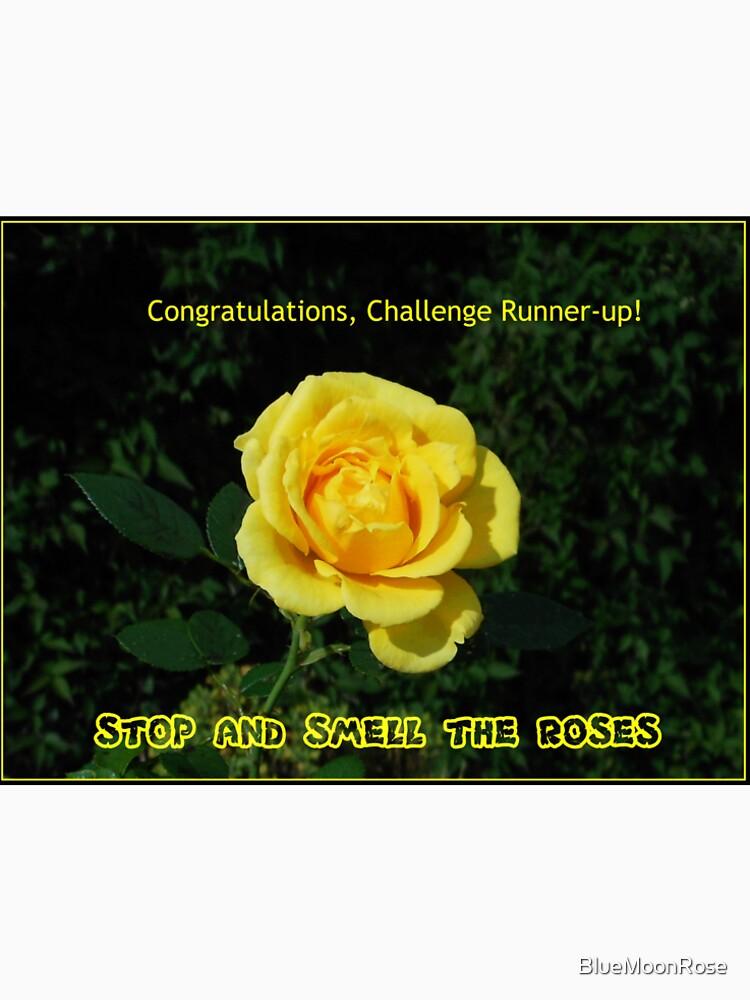 Stoppen Sie und riechen Sie die Rosen - Challenge Runner-up Banner von BlueMoonRose