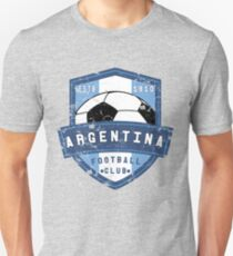 Argentina Football Club Vintage Distressed Soccer Sports Design T-Shirt