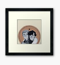 they Framed Print
