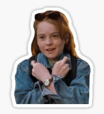 Parent Trap- Hallie sticker Sticker