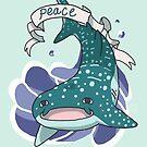 Peace Shark by C.C Art