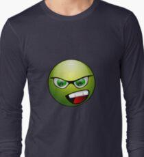 Angry Emoji Long Sleeve T-Shirt