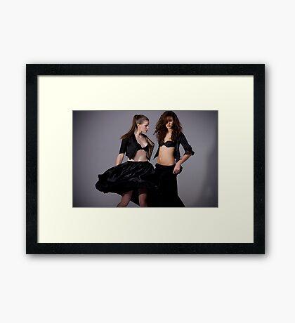flaunt it Framed Print