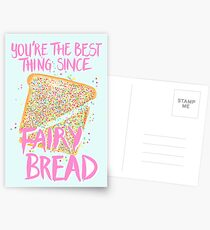 Best Thing Since Fairy Bread - Blue Postcards