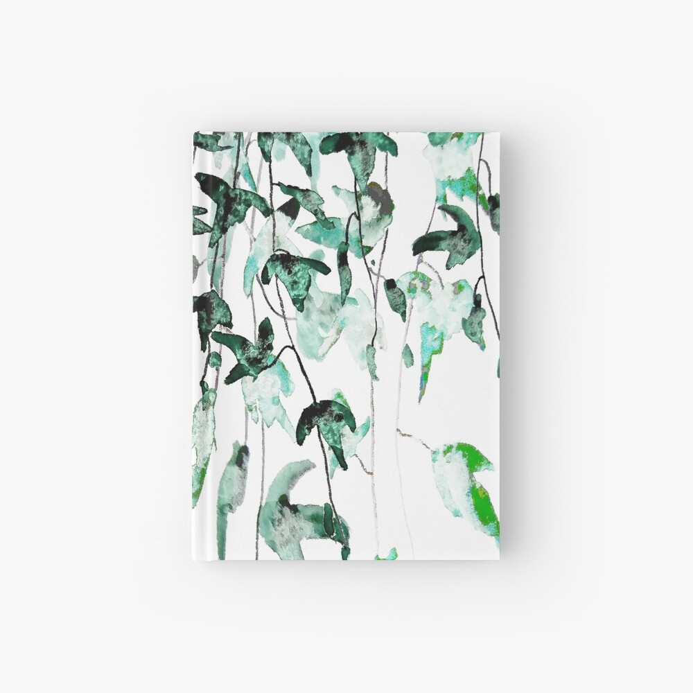 Ivy on the wall  Hardcover Journal