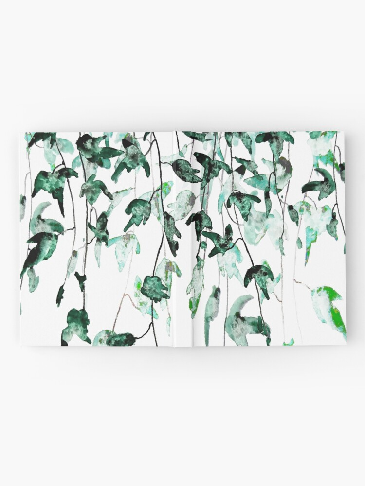 Alternate view of Ivy on the wall  Hardcover Journal