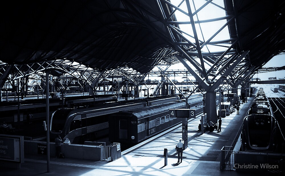 Southern Cross Station  by Christine Wilson