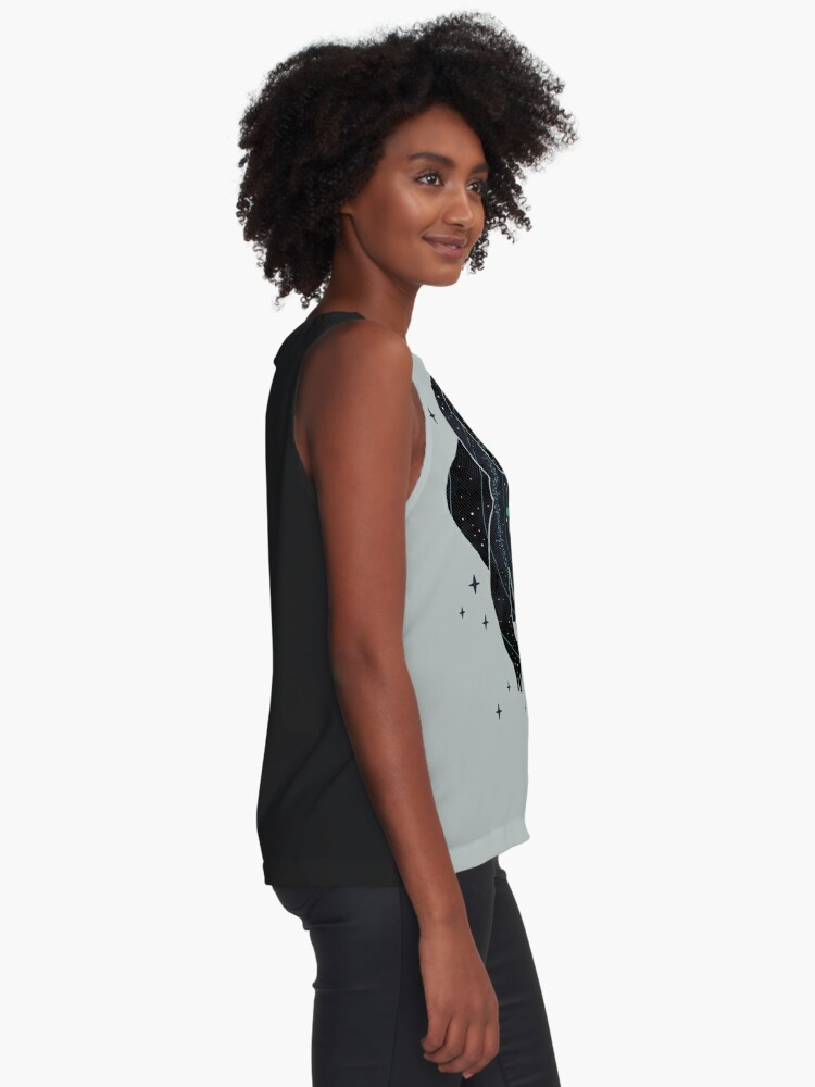 Alternate view of Inner Space Sleeveless Top