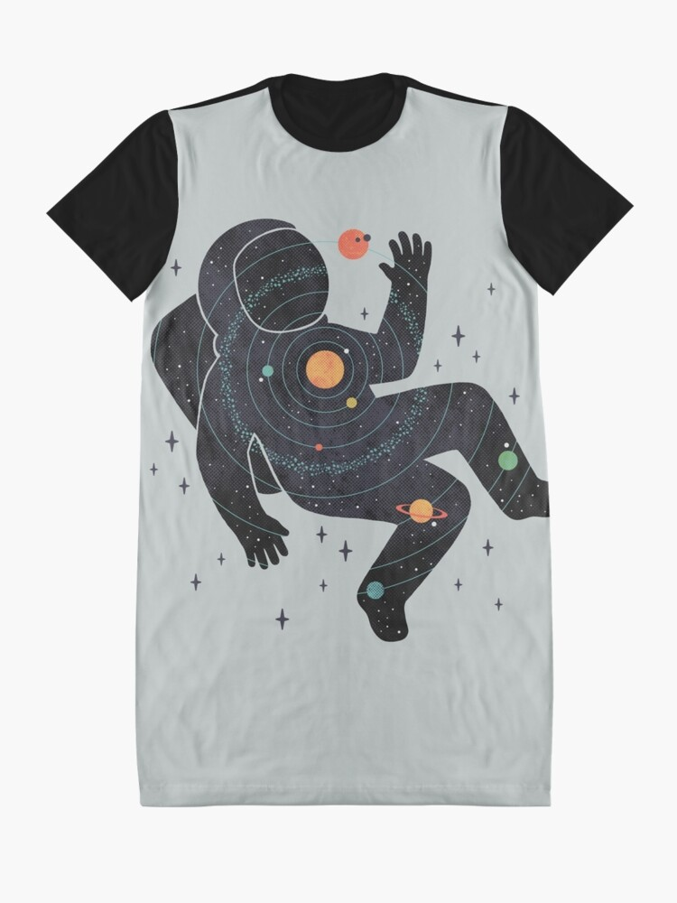 Alternate view of Inner Space Graphic T-Shirt Dress
