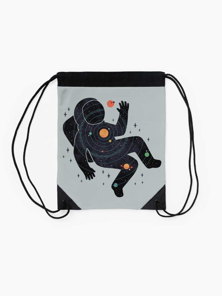 Alternate view of Inner Space Drawstring Bag
