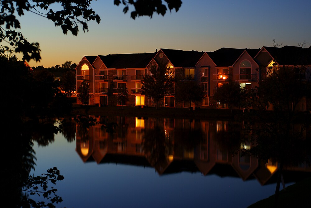 Nightly Reflection by Marc Payne Photography