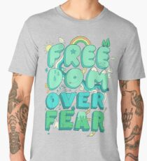 Freedom Over Fear Men's Premium T-Shirt