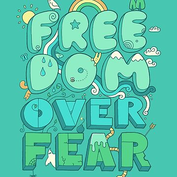 Libertad sobre el miedo de thepapercrane