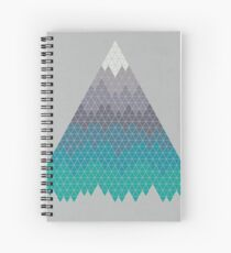 Many Mountains Spiral Notebook