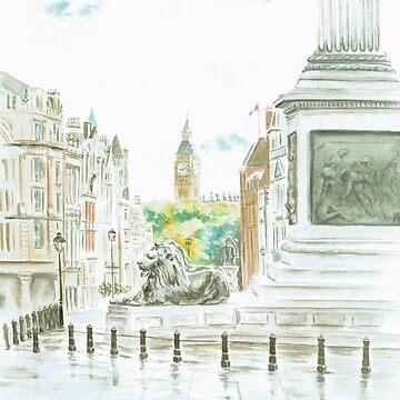 Trafalgar Square by artlilly