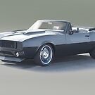 1967 Chevrolet Camaro Convertible by DaveKoontz