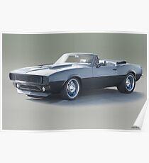1967 Chevrolet Camaro Convertible Poster