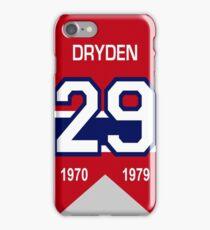 Kenny Dryden - retired jersey #29 iPhone Case/Skin