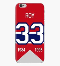 Patrick Roy - retired jersey #33 iPhone Case