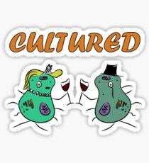 Microbe Cultured Sticker