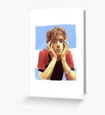 "Damon Albarn Painting ""Golden"" Greeting Card"