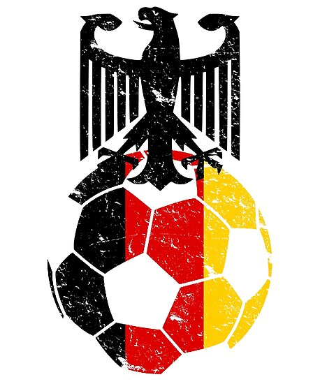 Germany Fussball Bund Football Soccer Sports Flag Design Posters By