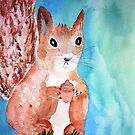 Red Squirrel by Charisse Colbert