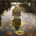 Afrodite and the water Lilies by © Kira Bodensted
