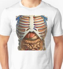 Funny t-shirt with the inner organs of the human body in your anatomy Unisex T-Shirt