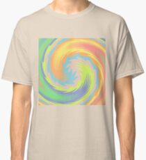 Abstract Twirl Wave Classic T-Shirt