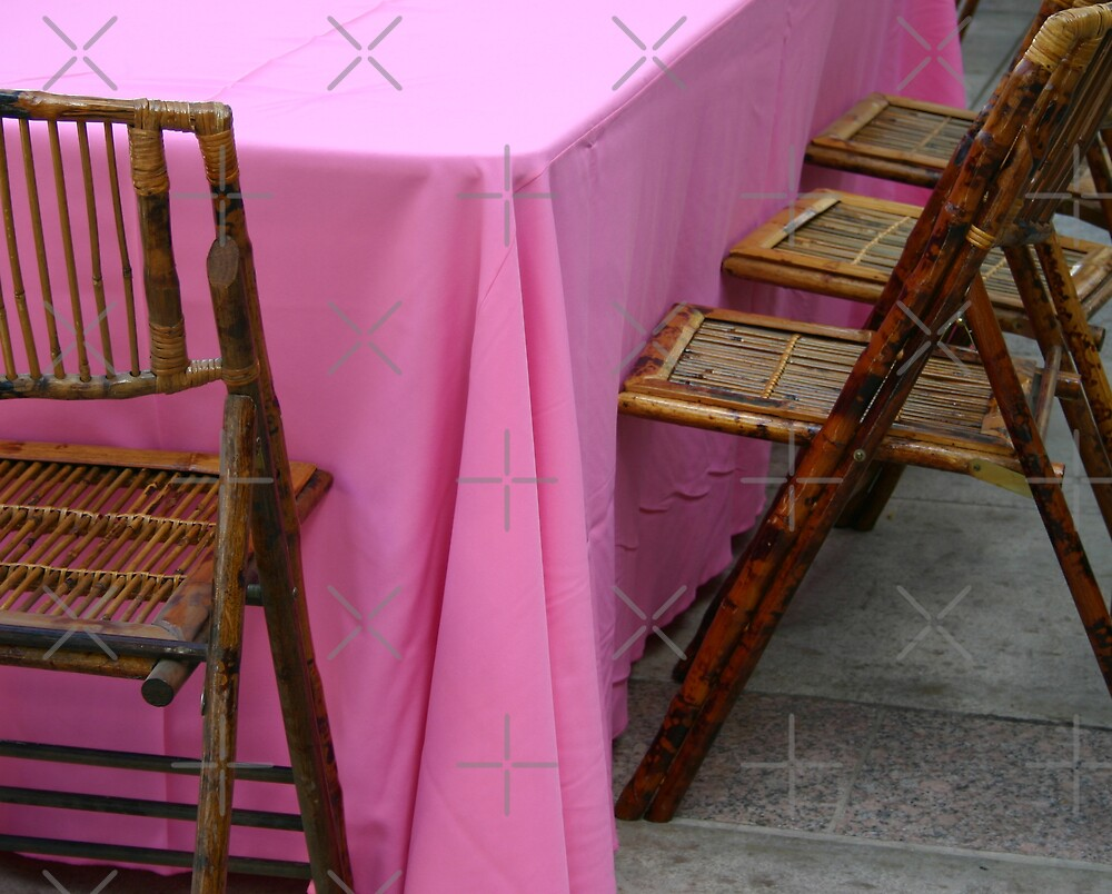 Pink Tablecloth by CarolM