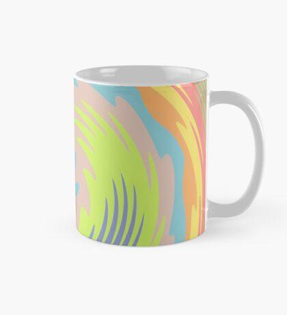 Abstract Twirl Wave Mug