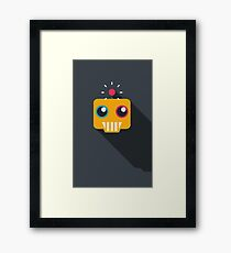 Mechanical Grin Framed Print