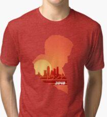 Blade runner 2049 Sunset Tri-blend T-Shirt