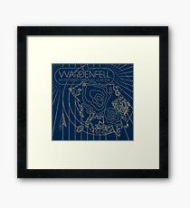 Vvardenfell, Morrowind Province Framed Print