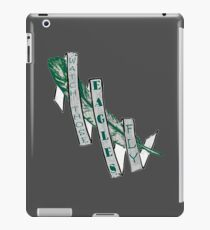 Watch Those Eagles Fly iPad Case/Skin